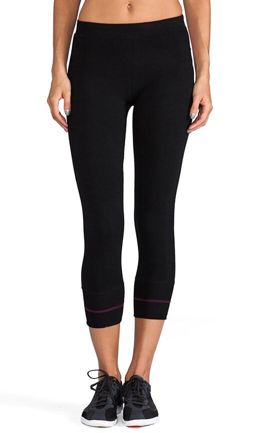 90/10 Crop Contrast Legging
