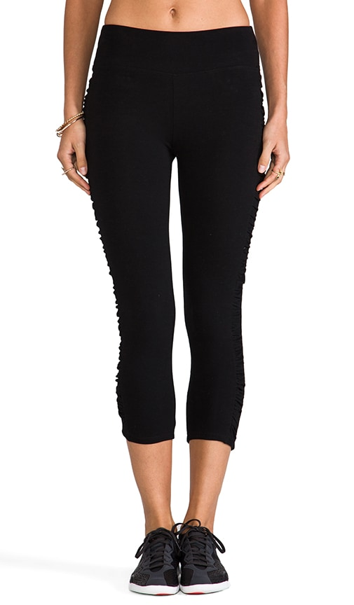 Crop Shirred Legging