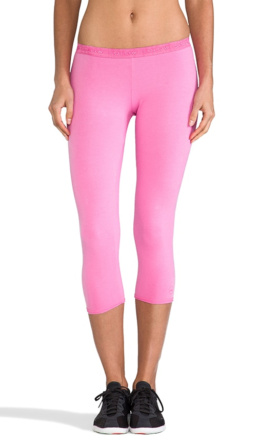 Low Rose Crop Legging