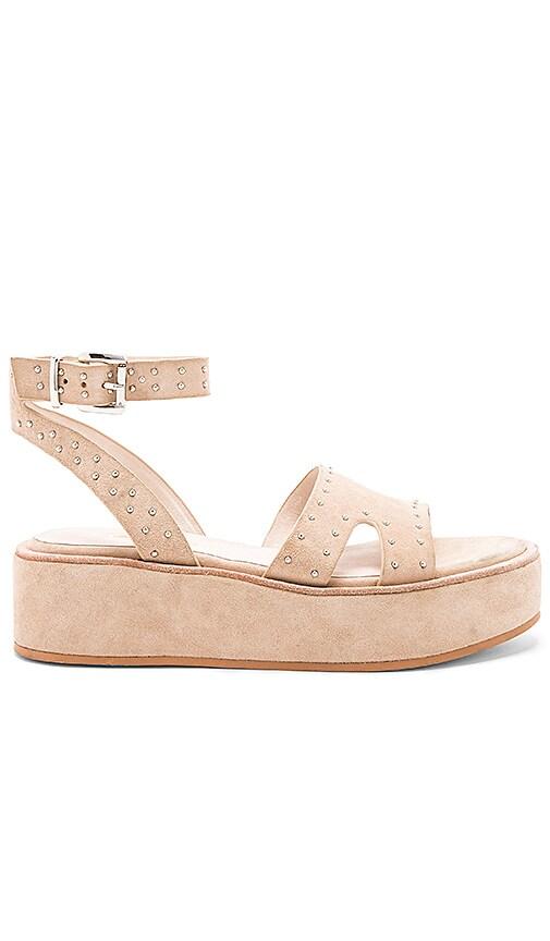 Sol Sana Penelope Flatform Sandal in Taupe