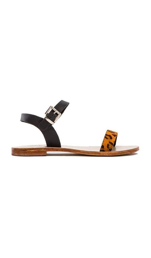 Rebel Calf Hair Sandal