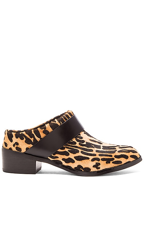 Sol Sana Lola Cow Hair Loafer in Snow Leopard