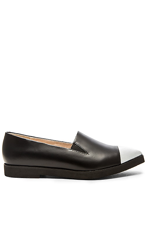 Sol Sana Chippy Brogue Loafer in Black