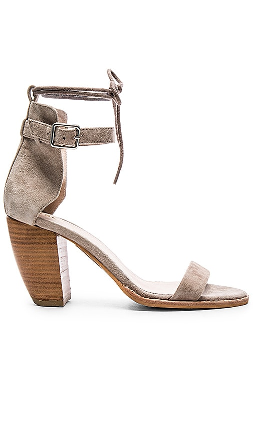 Sol Sana Tally II Heel in Taupe Suede