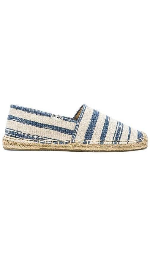 Painted Stripe Jute Espadrille