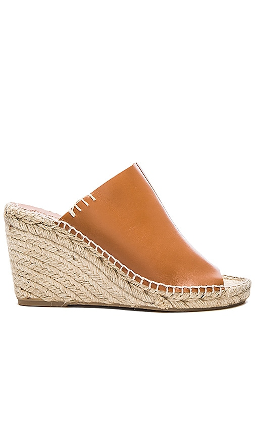 Soludos Mule Wedge in Tan