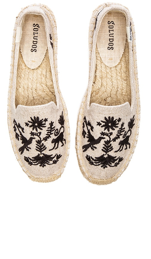 Otomi Embroidered Smoking Slipper