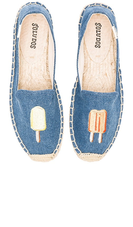 Popsicles Embroidered Smoking Slipper