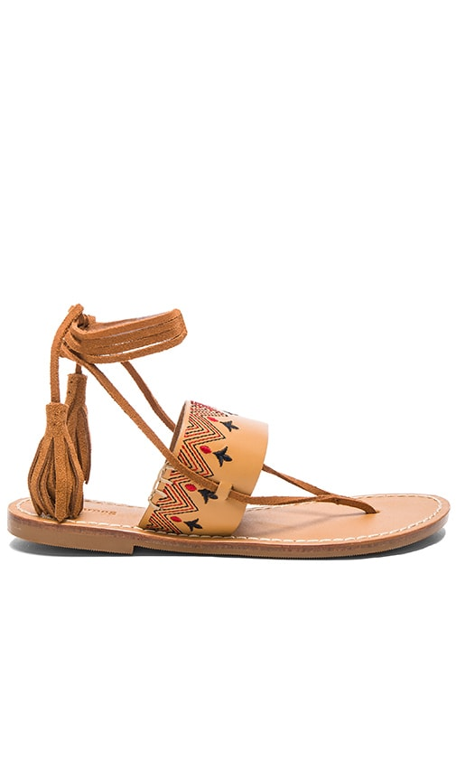 Flat Lace Up Sandal