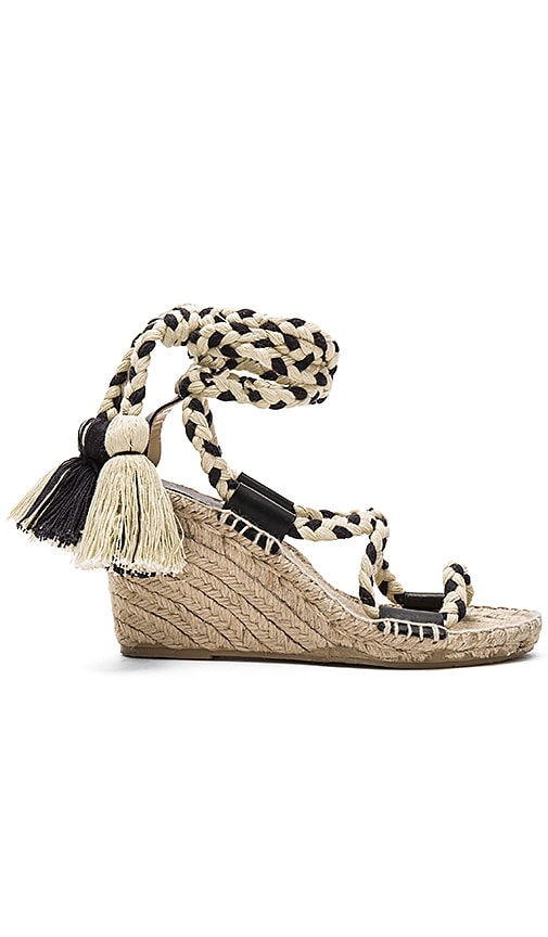 Gladiator Lace Up Wedge