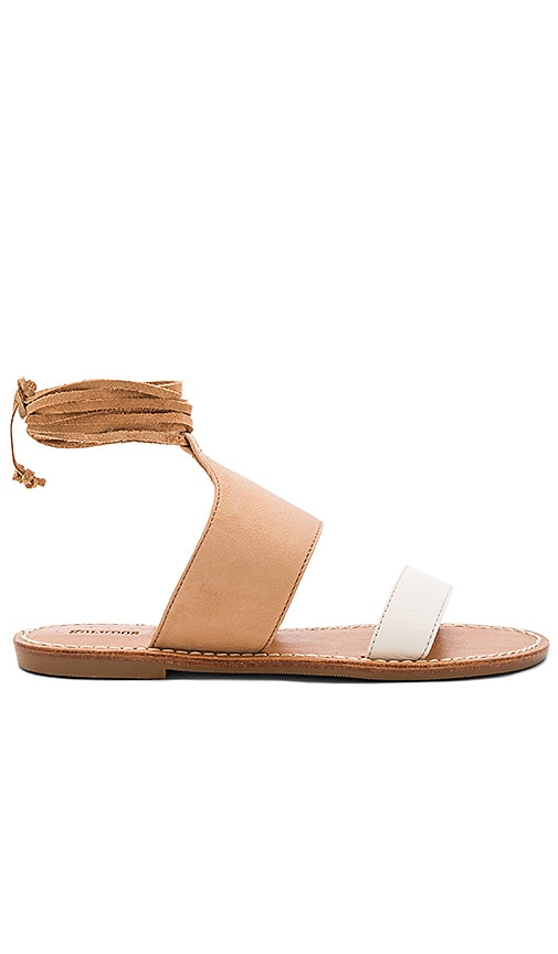 Soludos Color Blocked Sandal in Tan