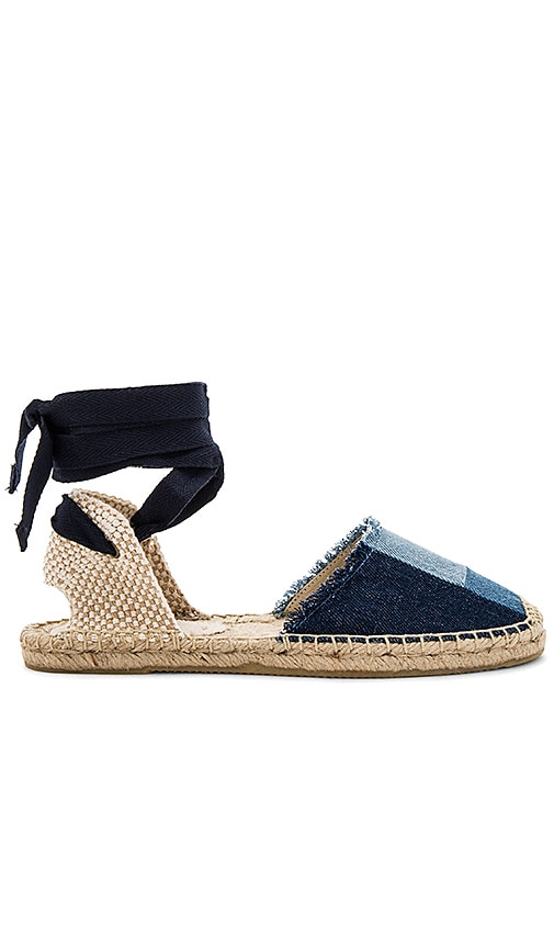 Soludos Patchwork Classic Sandal in Navy