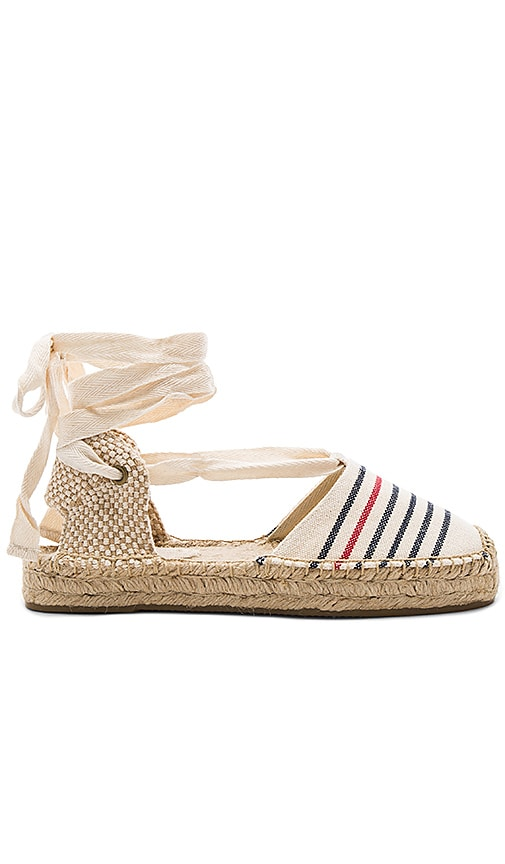 Striped Gladiator Sandal