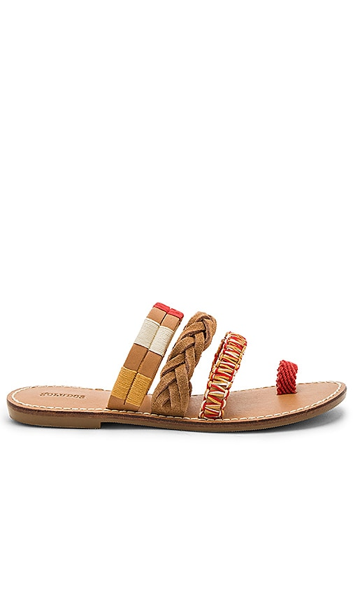 Soludos Multi Bracelet Sandal in Tan