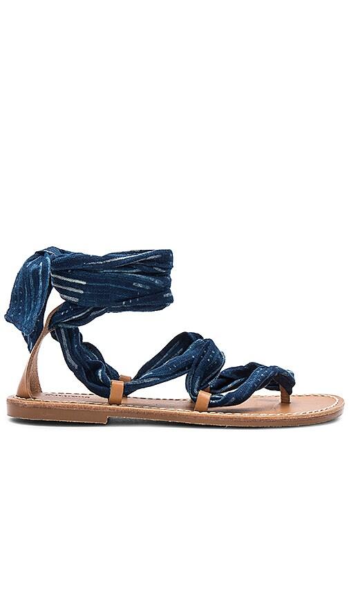 Soludos Indigo Bandana Sandal in Navy