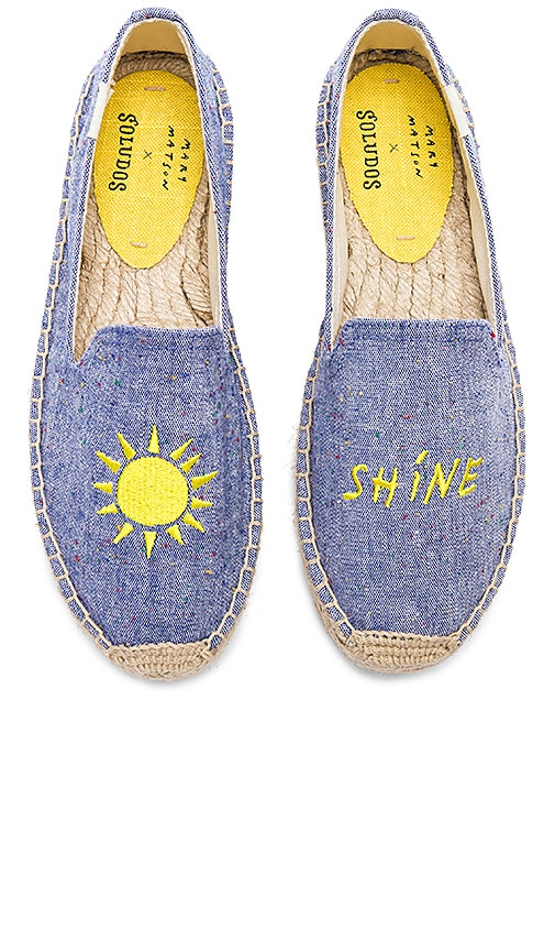 Soludos Sunshine Platform in Blue