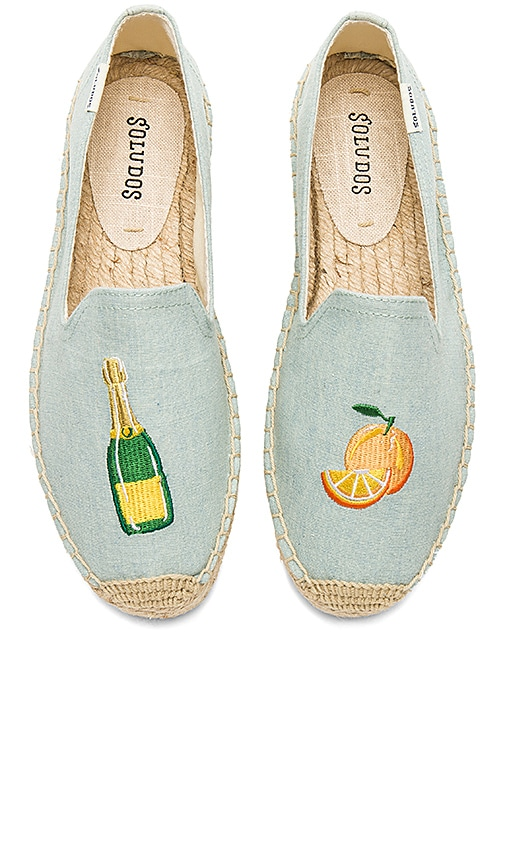 86bbbcb628e1 Soludos Mimosa Platform Smoking Slipper in Chambray