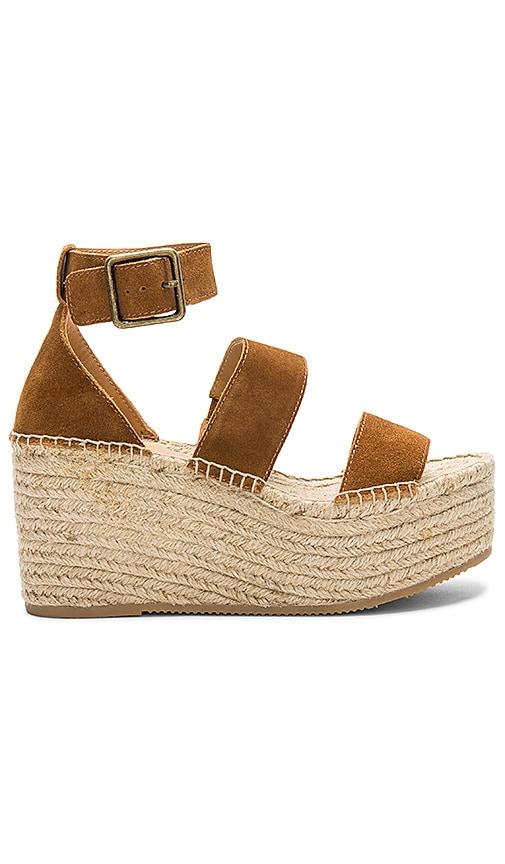 Soludos Palma Platform Sandal in Tan