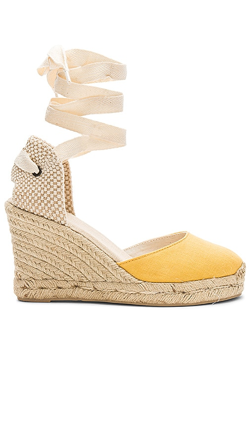 4f570d3dba9 Soludos Tall Wedge in Marigold | REVOLVE