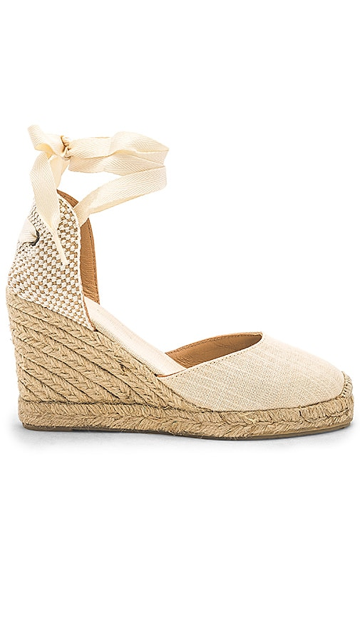Tall Espadrille Wedge
