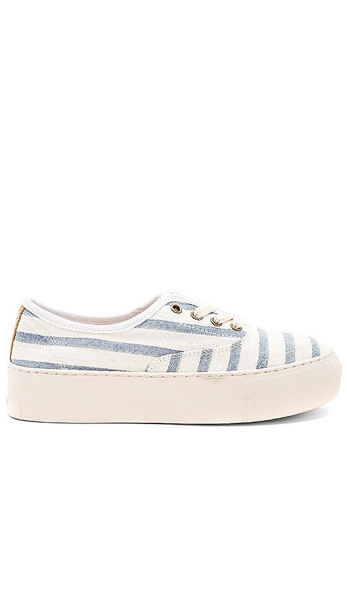 Soludos Platform Stripe Sneaker QWcWGO6