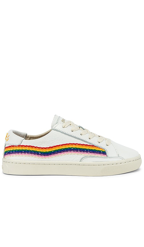 SNEAKERS RAINBOW WAVE