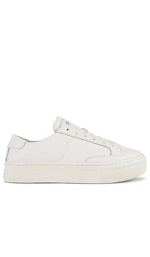 Soludos Ibiza Platform Sneaker in White