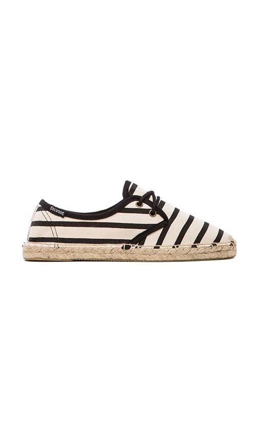 Derby Lace Up Classic Stripe