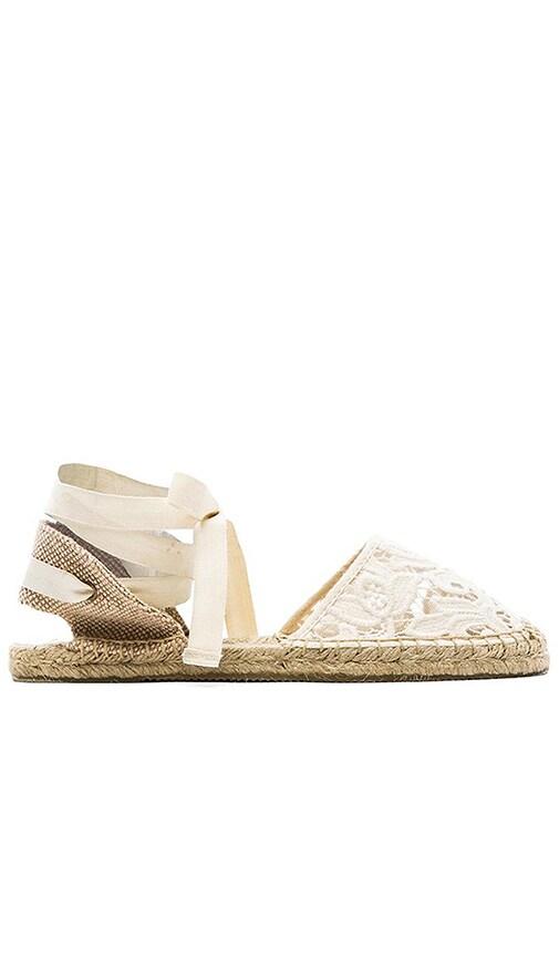 Classic Tulip Lace Sandal