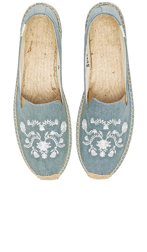 Mexican Embroidered Espadille