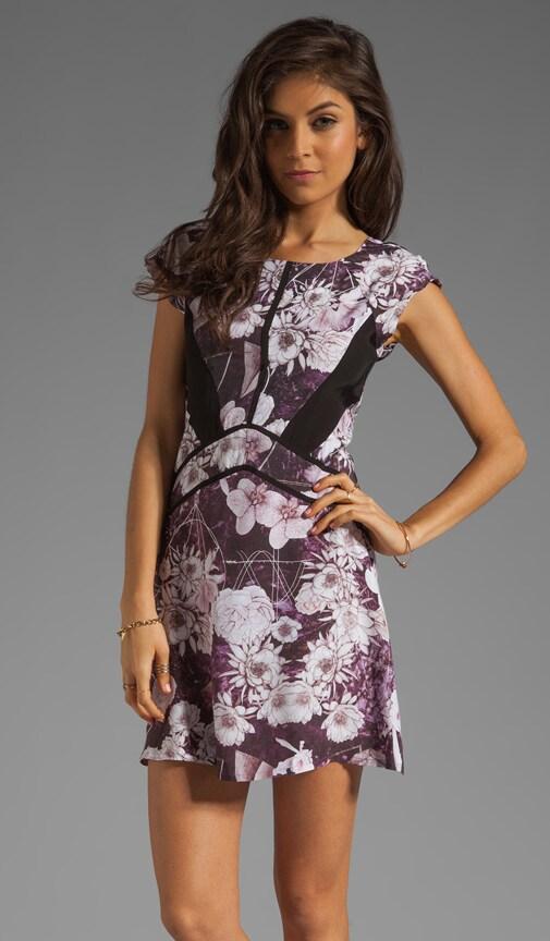 Space Floral Dress