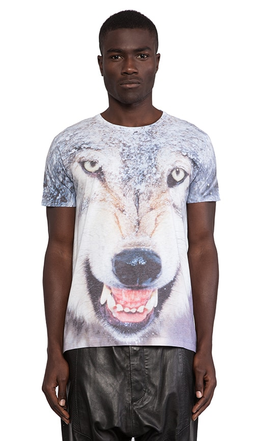 Damaged Goods Wolf Damaged Tee