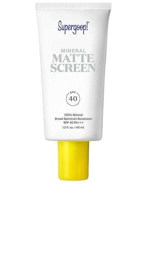 Smooth + Poreless 100% Mineral Matte Screen SPF 40