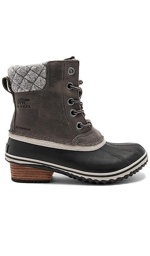 Sorel Slimpack II Lace Boot in Quarry \u0026