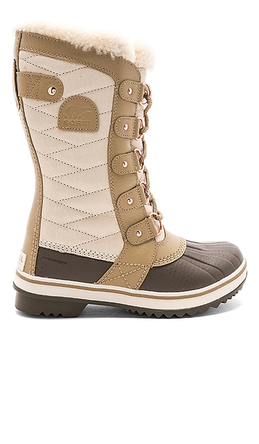 Sorel Tofino II Holiday Shearling Boot in Tan