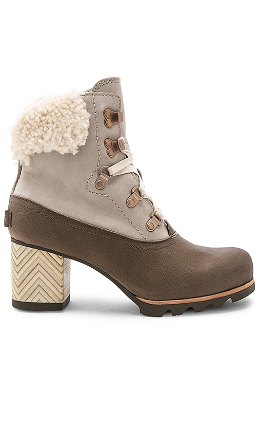 Sorel Jayne Lux Boot in Gray