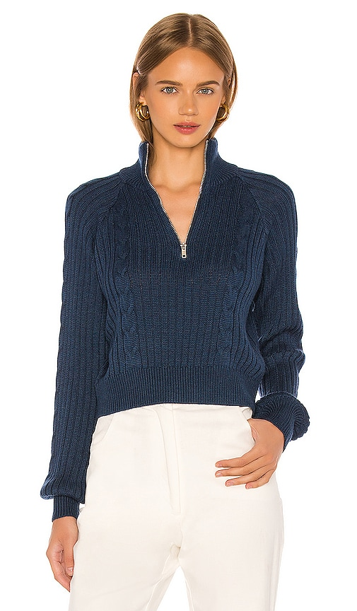 Rivka Zip Up Sweater