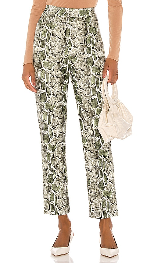 Maud Faux Leather Pant