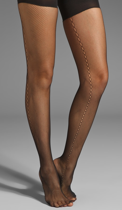 Side Seam Fishnet Tights
