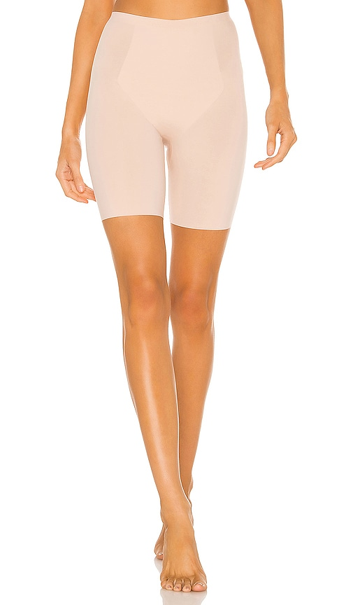 SPANX Thinstincts Mid Thigh Short in Soft Nude | REVOLVE