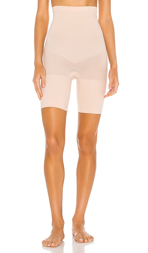 SPANX Super Higher Power Short in Beige