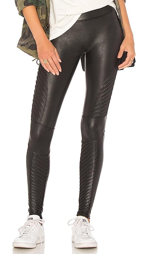 dcb4f77432f03 SPANX Moto Leggings in Very Black | REVOLVE