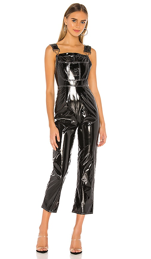 Molly Faux Leather Overall