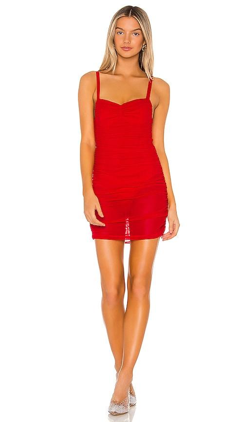 Darlene Mesh Mini Dress