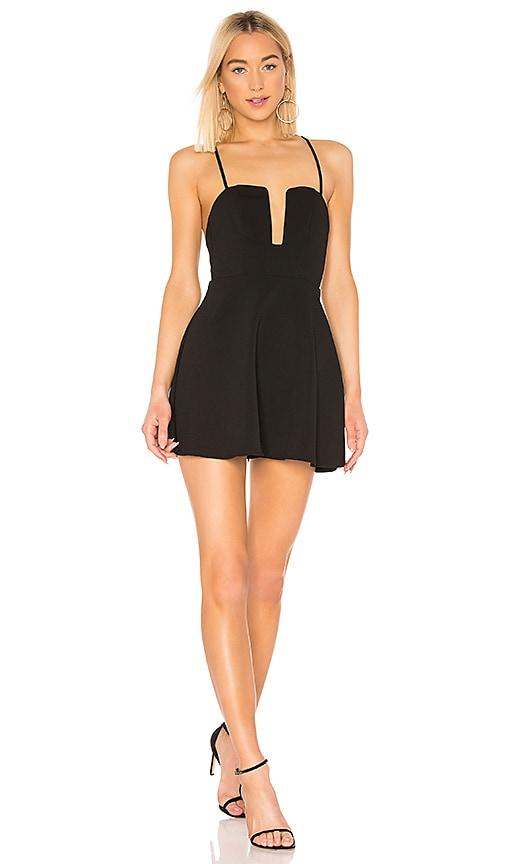 Kirsten Flare Mini Dress