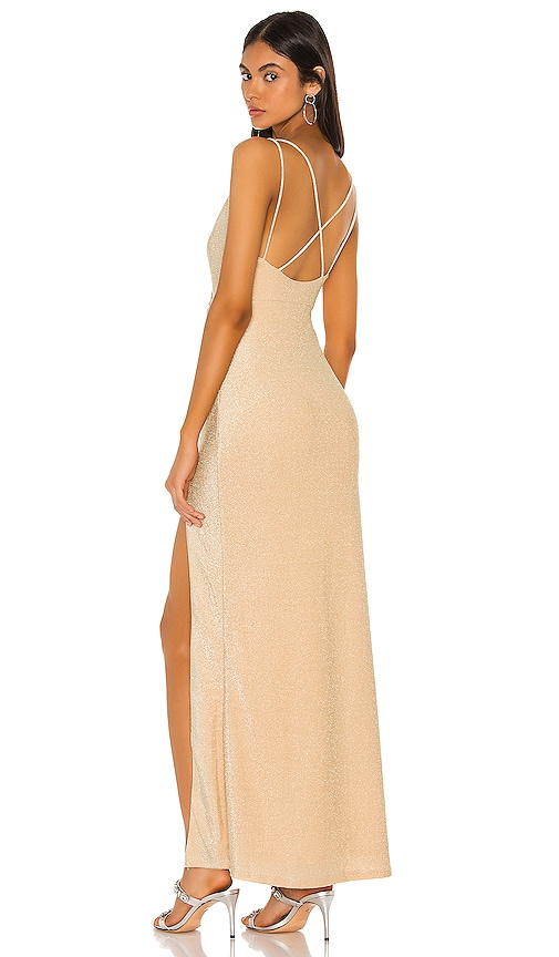 Karmin Ruched Maxi Dress