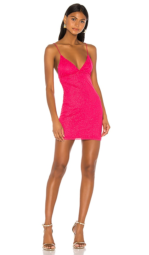 new specials on sale huge discount superdown Sydney Sparkle Mini Dress in Pink | REVOLVE
