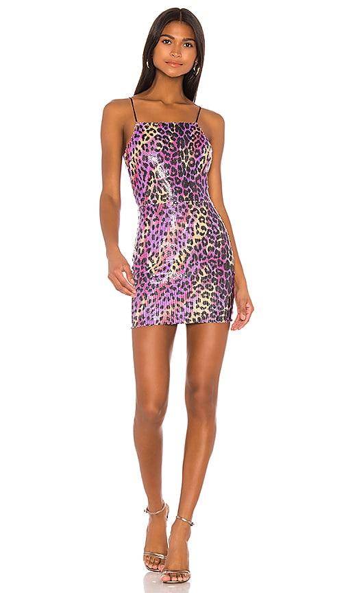 superdown Elena Bodycon Mini Dress in Multi Leopard | REVOLVE