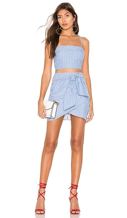 Tasha Wrap Skirt Set