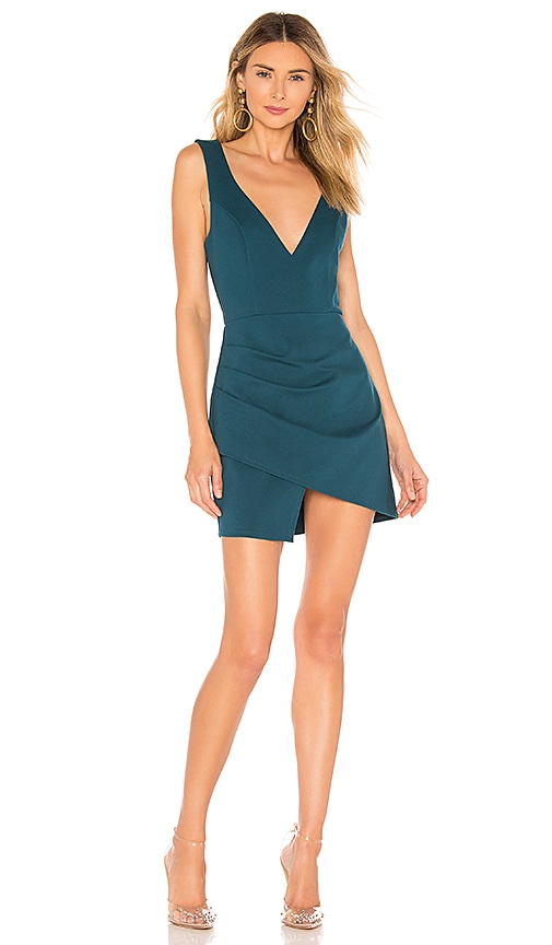 Wendy Surplice Mini Dress